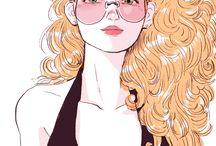 illustration & manga