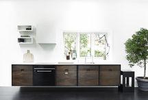 KITCHEN / Kitchen in smoked oak - danish design & production.