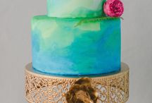 water colour weddings