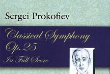 Orchestral Music: Symphonies, Concertos and more / Full Scores of your favorites