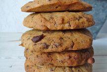Alimentation saine, recettes et conseils / De bonnes recettes de desserts gourmands...gâteaux au chocolat, cookies,...le goût avec des produits sains, parfois même sans cuisson