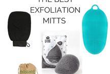 Exfoliation for ingrown hairs
