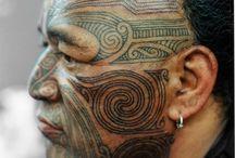 Tatouages sur le visage