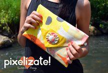 PIXELIZATE :: Bolsos / handmade bags Pixelizate