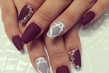 Nails beautiful .