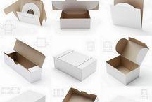 Box Templates- folding - no tape