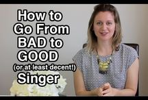How to sing / by Jessica White