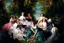 Eugénie de Montijo Empress Ladies in waiting