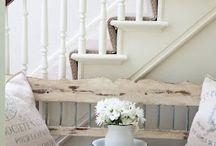 Inspirációk a konyhához / Ötletek a konyhához, ami a lépcsőnek is helyet ad majd, amin a tetőtérbe jutunk.