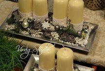 Dekoracje świec