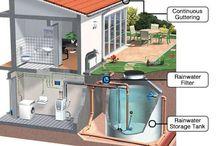 Regnvatten behållare