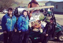 Easter / Easter weekend at Action Glen