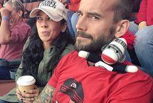 CM Punk e AJ Lee