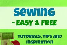 Sewing - EASY & FREE / This is the place to find the best (FREE) SEWING projects, TUTORIALS and tips for hobby sewists. If you are a blogger who sews you are welcome to join as CONTRIBUTOR! Follow me at applegreencott and then e-mail me at applegreencottage(at)gmail(dot)com with your pinterest info! PLEASE---> For each pin you add, make sure you repin something else from the board to another board. Thx and enjoy :) / by AppleGreen Cottage