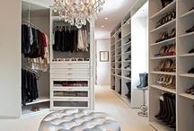 Closets / a place for everything & everything in its place