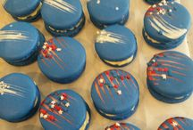 Fancy Macarons / Holiday, seasons and decorated macarons for baby shower, wedding/bridal shower, etc.