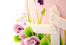 Cake - female / Garden cake