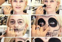 malování na tvář
