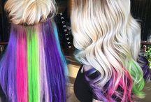 Hair color.....