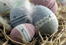 hæklet æg