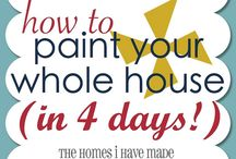 Paint the house