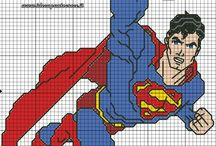 Cross Stitch Superheroes