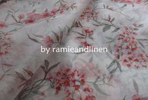 Soft Floral Print Fabric