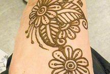 Henna designs....