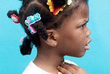 Afro frisyrer
