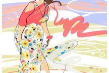 Plus Size Fashion Illustrations / Plus size fashion illustrations  / by IGIGI
