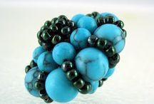 Beaded Bead / Various beaded beads