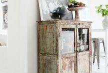 Old furnitures / Ideoita ja uusia pintoja vanhoille huonekaluille