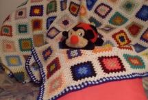 Colchas e mantas em crochet - da net