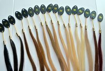 Color Guide For Hair Extensions / How to pick the best color when purchasing hair extensions on line.