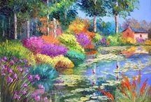 Pinturas de Jean-Marc