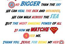 Messy super heroes