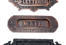 Letter Plates Mail Slots / Get the latest designs of letter plates mail slots for enhancing the beauty of your home. These are products that would help to create an impact on your guests and even lure the mail man to put something in your mail box every day! Letter plates can be a great addition when you are looking to create a truly wonderful look for your mail slots.