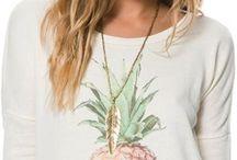 Fruit on clothing ideas