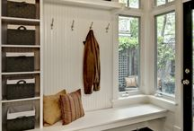 Mudroom & Enrty