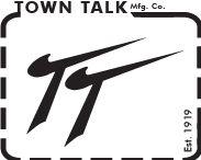 Branding of Town Talk Headwear