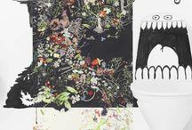 Muurdecoratie - kunst aan de muur