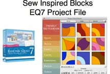 Electric Quilt & The Sew Inspired Design System / EQ7 and Sew Inspired Design System Customers can now use the  EQ&-Sew Inspired Block Project File to design there quilts.