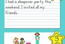 Junior Writing ideas