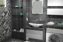 ΔΙΑΧΡΟΝΙΚΗ ΚΟΜΨΟΤΗΤΑ / Σχεδιαστική υλοποίηση μιάς ιδέας για κατασκευή μπάνιου σε μονοκατοικία στην περιαστική περιοχή της Θεσσαλονίκης.