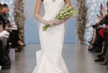 Wedding - Luxury Couture Bridal Gowns  / Luxury wedding gowns from Rmine Besoke, Simone Carvali, Victor Harper, Lazaro, Monique Lhuillier, Mariee, Mikaella, Vera Wang Bridal Gowns  / by Denise Burridge