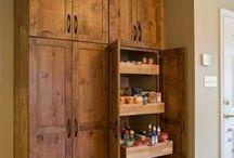 free standing pantry / by Susan Craig-Olsen