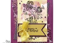 ODBD Plum Pizzazz Paper Collection