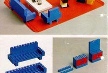 LEGO bouwtekeningen.
