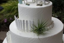 Beach Themed Wdding Cake