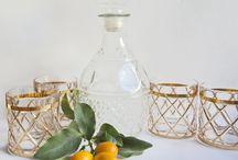 Vintage Glassware | Depression Glassware | Mid Century Glassware |